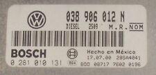 Sintonizzati!!! VW Beetle ECU 1.9 TDI 90 Elicottero armato leggero 038906012n IMMO OFF Plug & Play