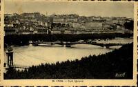 Lyon Frankreich CPA ~1920/30 Pont Morand Totale mit Stadt Fluss Brücke Morand