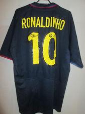 Barcelona Ronaldinho 10 2003-2004 Away camiseta de fútbol Talla Xl / 33096