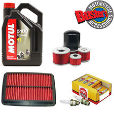 Motul 5100 Oil , Oil Filter , Air Filter and NGK Spark Plugs GSF600 1995