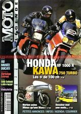 MOTO LEGENDE 110 HONDA VF 1000 R KAWASAKI ZX 750 Turbo ROYAL ENFIELD DKW NORTON