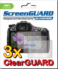 3x Clear LCD Screen Protector Sony Alpha A57 A65 A77 SLT-A57V SLT-A65V SLT-A77V