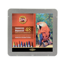 Koh-I-Noor 8782 Woodless Aquarell Watercolour Pencil Sets in 12, 24, 36 and 48