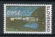 Slovakia 2017 MNH Orava Dam Monuments 1v Set Architecture Tourism Stamps