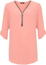 Maglie e camicie da donna maniche a 3/4 lunghezza lunghezza ai fianchi taglia 54