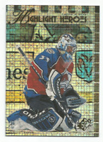 1999-00 UD SPX Highlight Heroes HH5 Patrick Roy Colorado Avalanche