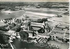 Carte FONTGOMBAULT Vue aérienne Abbaye Notre Dame vue du Midi