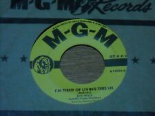 BOB WILLS 45.  PLINEY JANE  /  I'M TIRED OF LIVING THIS LIFE.  VG+.VINTAGE COUNT