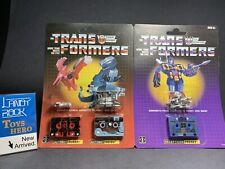 [ToysHero] In Hand Transformers Vintage G1 Reissue Cassettes Frenzy Gurafi Noizu