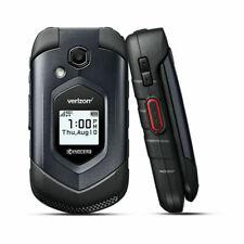 New listing Kyocera DuraXv Lte E4610 4G Lte Flip Black (Verizon) Rugged Cell Phone