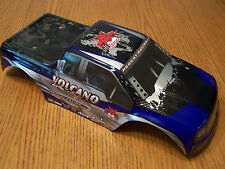 Redcat Volcano EPX Pro Factory Painted Blue Black Body 1/10 Truck Body EPX S30
