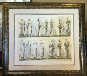"""Standing Figures Collection of Henry Moore Foundation"" by Henry Moore"