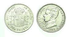 pcc1586_74) SPAGNA SPAIN 1 PESETA  ALFONSO XIII  1903