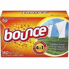 Bounce Fabric Softener Sheets 160 Sheets/box - Pgc80168bx