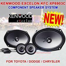 "KENWOOD EXCELON KFC-XP6903C 6"" x 9"" COMPONENT SPEAKERS TOYOTA DODGE CHRYSLER NEW"