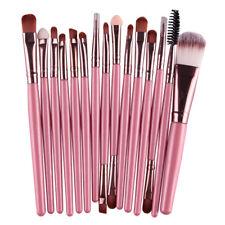 MAANGE Pro 15Pcs Makeup Brushes Set Eye Shadow Foundation Powder Eyeliner Eyelas