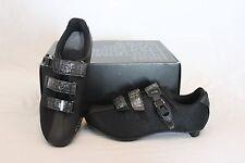 New Women's Fizik R3 Donna SPD-SL Cycling Carbon Shoes Road EU 38 7.5 Black $300