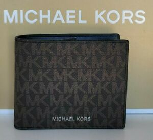 Michael Kors Cooper Bifold with Coin Pocket Code 36U9LCRF3B. NWT $158