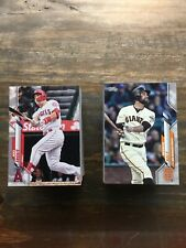 2020 Topps Series 1 Complete Baseball Base Card Set 350 Cards Free Shipping!
