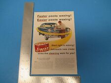 1957 Print Ad, J-Wax Johnson's new J-wax does the cleaning work for you! Auto