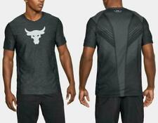 Men's UA Under Armour x Project Rock SuperVent T-Shirt 1319874 Size XL