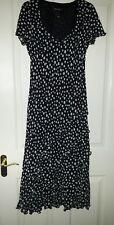 Savoir Spot Maxi Dress size 12...Brand New