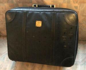 MCM * Original * Koffer * Reisetasche aus Canvas in Schwarz
