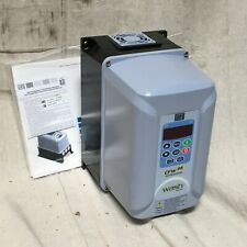 Weg Cfw080100bdn4a1z Variable Frequency Drive 3 Max Hp 1 Or 3 Input Phase Ac