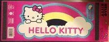 HELLO KITTY Rainbow Vinyl Decal Window Sticker Auto Truck RV 32501