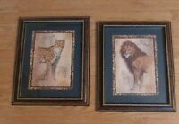 Vintage Home Interiors  * Cheetah & Lion * Pictures J. Gibson