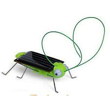 TOY FUN!! SOLAR POWER ENERGY ROBOT INSECTS - GRASSHOPPER (J132) & COCKROACH 133