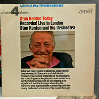 """STAN KENTON - Today Live In London (Phase 4 Stereo) - 12"""" Vinyl Record LP - VG"""