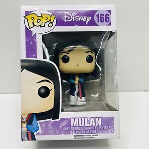 Funko POP! Disney MULAN Figure  #166 DAMAGED BOX