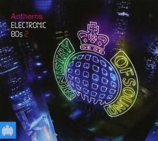 Anthems Electronic 80s 2 3-CD NEW SEALED Kraftwerk/OMD/Japan/Yazoo/David Bowie+