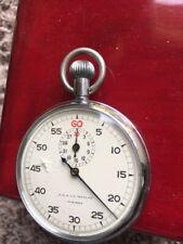 A R & J F Meylan Vintage Stop Watch Swiss Made Needs Servicing