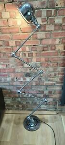 Vintage original Jielde 5-arm articulated standard industrial workshop lamp