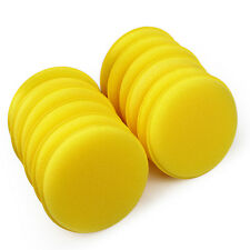 12x Car Benefit Waxing Polish Foam Sponge Wax Applicator Cleaning Detailing Pads