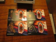 """STAR WARS """"SOLO"""" 2018 (""""TARGET"""" PATCH CARD'S 4 OF 5)FREE SW ITEM!!!"""