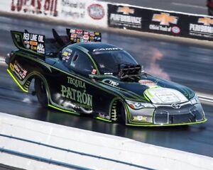 ALEXIS DEJORIA TEQUILA PATRON FUNNY CAR 8X10 GLOSSY PHOTO #4