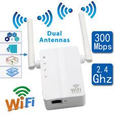 300 Mbps WLAN Repeater Router Range Extender WIFI Signal Verstärker Booster