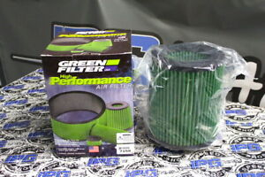 Green Drop In Replacement Air Filter Fits 2014-2017 Ford Focus ST - 2.0L Turbo
