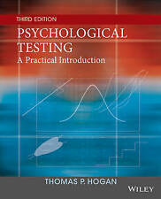 NEW Psychological Testing: A Practical Introduction by Thomas P. Hogan