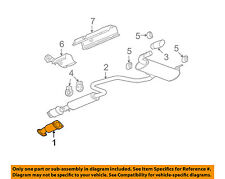 GM OEM-Exhaust System-Catalytic Converter & Pipe 15947649