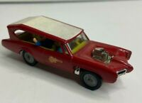 Vintage Husky Corgi Made In Great Britain The Monkees Monkee Mobile Red White