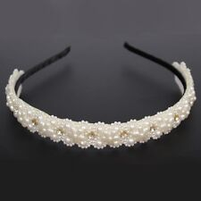 Luxus Haarreif Designer Perlen Strass Kopfschmuck Haarband Hochzeit Haarspange