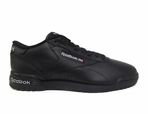 Reebok Men's EXOFIT LO CLEAN LOGO INT Shoes Black/Black AR3168 f