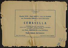COPERTINA, CERASELLA, MARIO GIROTTI-TERENCE HILL, A.PANARO, C.MORI, MATARAZZO