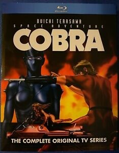 Space Adventure Cobra TV Series Blu Ray Official Discotek Anime