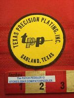 Vtg Garland TEXAS PRECISION PLATING INC. Jacket Patch 63Z7