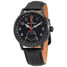 Lucien Piccard Complete Calendar Black Dial Men's Watch 40016-BB-01